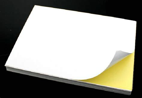 sticker printing paper a4 price 50 sheets a4 self adhesive sticker label a4 label sticker
