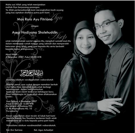 kata kata mutiara untuk kartu undangan pernikahan islami rayuan romantis buat kekasih
