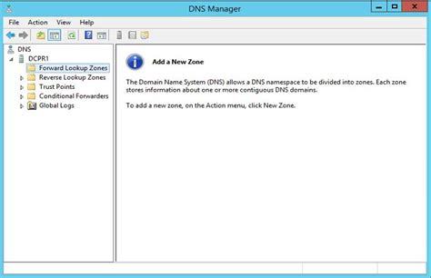Lookup Zone Name Sccm 2012 How To Configure Dns Server In Windows 2012