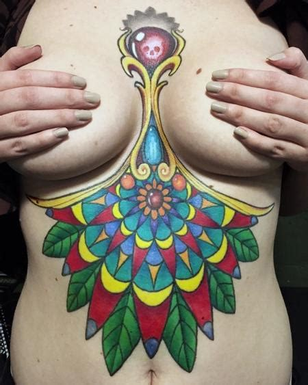 mandala tattoo with colour full color mandala tattoo by eddie zavala tattoonow