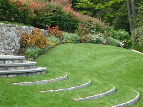 grass steps a great garden design idea
