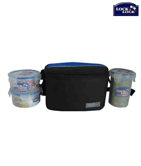 Lock Lock Ezlock Package Isi 4 lock lock airtight lunch box with a bag buy at