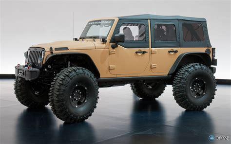 mopar jeep wrangler 2013 moab concepts revealed