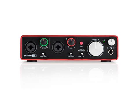 Focusrite 2i2 2nd Audio Interface focusrite 2i2 2nd 2 in 2 out usb 2 0 audio interface ebay