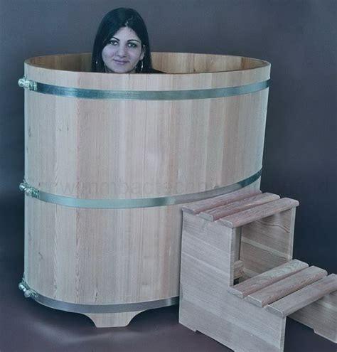 tauchbecken outdoor sauna tauchbecken aus holz l 228 rche au 223 en natur innen
