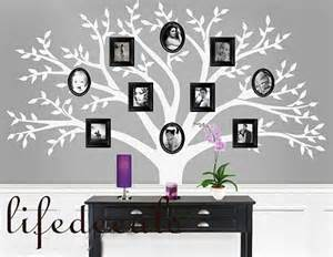 Family Tree Stickers For Walls Family Tree Vinyl Wall Decal Photo Tree Frame Trees Decals