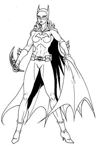 free batgirl and supergirl coloring pages batgirl coloring pages bestofcoloring com