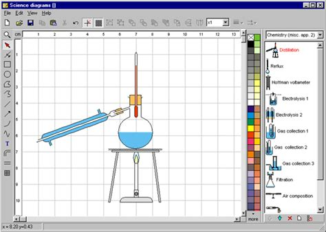 free scientific drawing software science diagrams by focus educational software