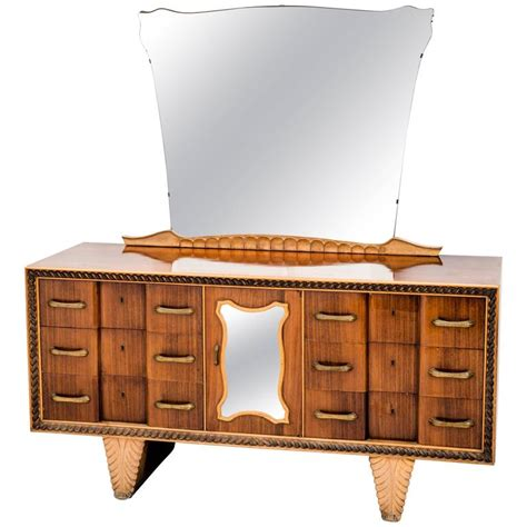 1940 Dresser With Mirror by Dresser Table With Mirror By Pier Luigi Colli 1940s