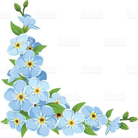 non ti scordar di me fiori non ti scordar di me fiori sfondo vettoriale dangolo