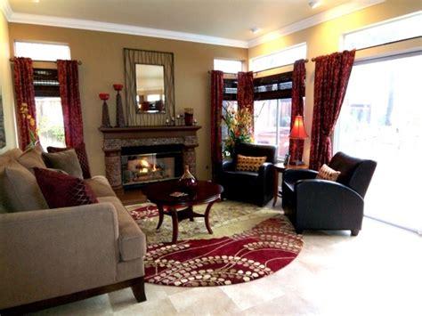 maroon living room living room palette idea black furniture maroon accent