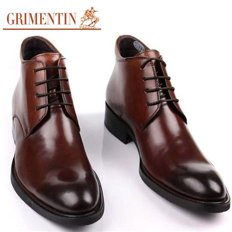 sale handmade brand ankle boots genuine leather