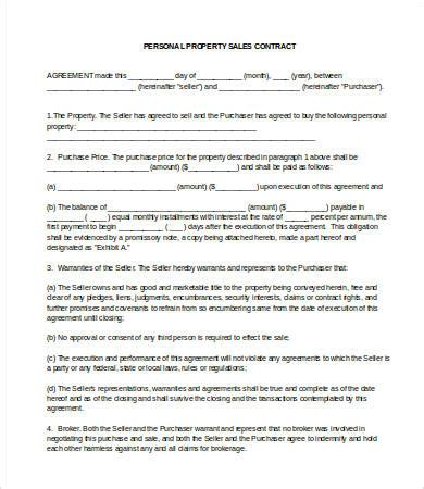 sale agreement template 21 sales contract templates free sle exle