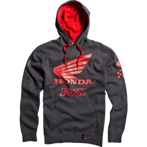 fox motocross hoodies dirt bike fox racing honda premium hoody motosport