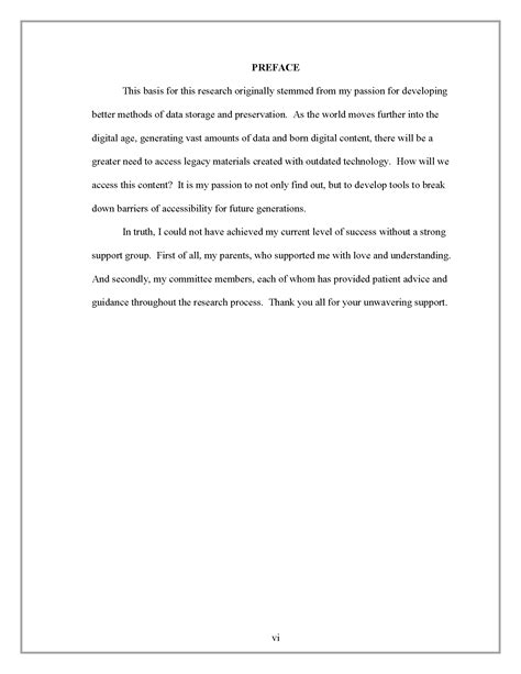 dissertation preface preface thesis and dissertation research guides at sam