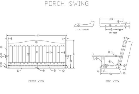 hanging porch swing plans interesting ideas for home