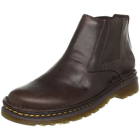 dr martens milton chelsea boot in brown for lyst