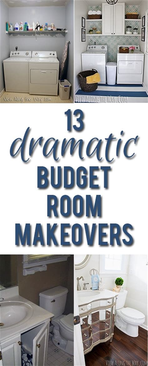 Decorating A Laundry Room On A Budget Room Makeovers View Along The Way