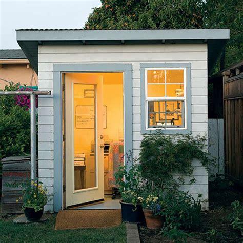 creative ideas for backyard retreats and garden sheds sfgate