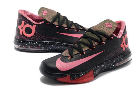 shoes kds kevin durant nike pink black wheretoget