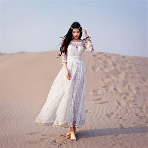 Dress Dress Korea Putih White 1 2015 new arrival lace dresses fashion casual dress maxi white vestidos slim vintage