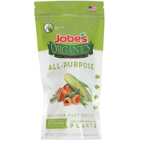 Mba Fertilizer 0 2 5 by Jobe S Organic 1 5 Lb Granular All Purpose Fertilizer