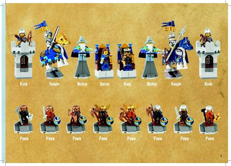 lego castle chess set 852293