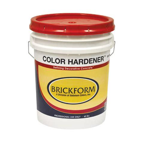 brickform color hardener color hardener muller construction supply