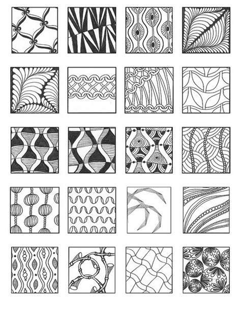 doodle drawing patterns 463 best zentangle exles images on doodles