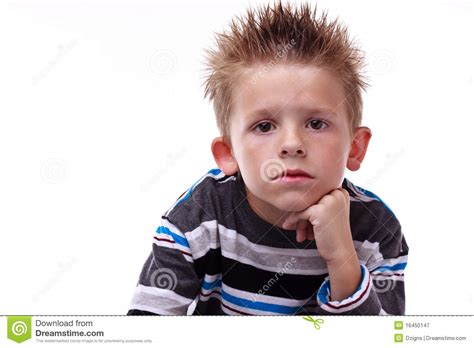 cute boy royalty free stock photography image 26641147 cute young boy looking bored stock image image 16450147