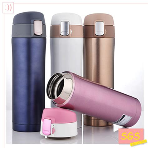 Botol Thermos Cup 500ml sgs 500ml thermos cup stainless steel bottle vacuum flasks thermoses garrafa termica infantil my