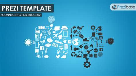 connecting for success prezi template prezibase