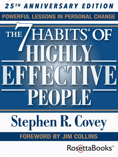 The 7 Habits Of Highly Effective By Stephen Rcovey rosettabooks and franklin covey co release the 7 habits