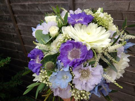 wedding flower july pictures kingscote barn wedding flowers pretty summer blue and