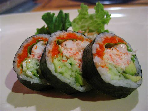 roll roll boston sushi roll recipe japanese food recipes