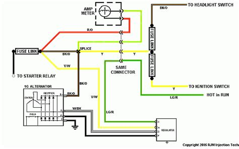 wiring   ford  series alternator bobs garage library