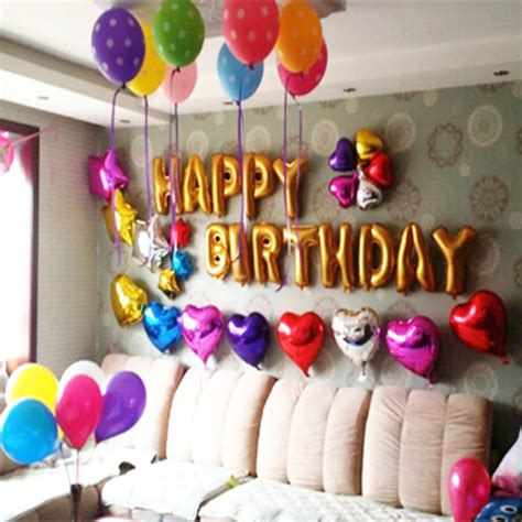 birthday decorations to make at home decoration whimsical balloon decoration ideas for party