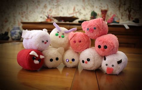 Handmade Plushies - mini chamallow handmade plushies by peluchiere on deviantart