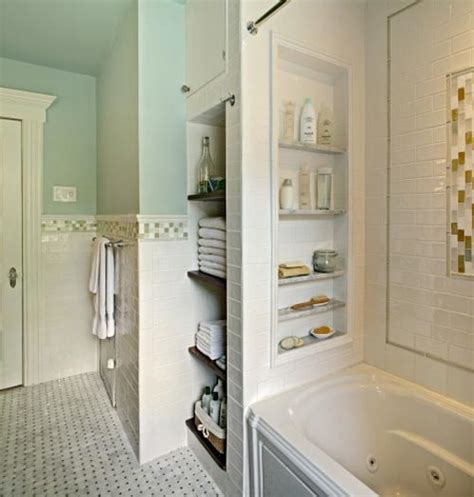 bathroom built in storage ideas banyo niş modelleri yapı dekorasyon 360