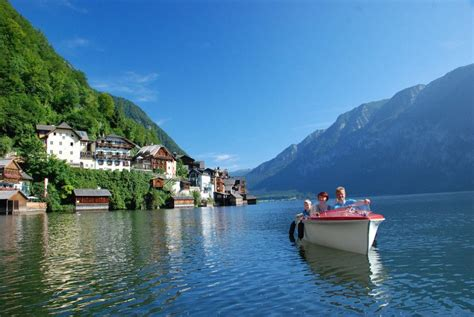 electric boat rentals downtown ta bootsverleih beim tourismusb 252 ro 187 your holiday in gosau