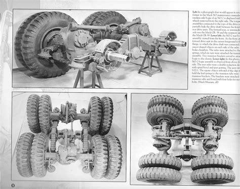 review  big macks  visual history   mack wheeled prime movers   army service