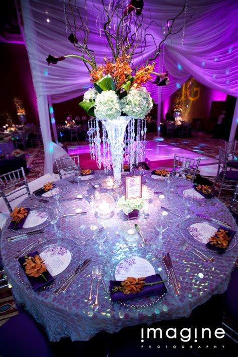 Orange And Purple Wedding Ideas Wedding Centerpieces Purple And Orange Centerpieces For Weddings