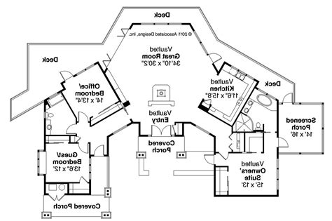 Lodge Plan by Lodge Style House Plans Sandpoint 10 565 Associated
