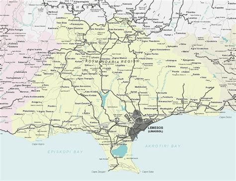 travel directions and map limassol maps limassol area map and limassol city map