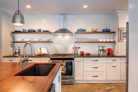 Kitchen Open Shelving Concept This Open Concept Kitchen Is Now The Of The Home