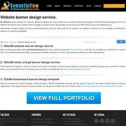 web banner ads flash banner static and animated banner banner design semanticflow pearltrees