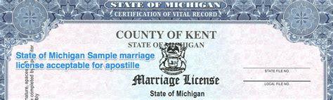 Washtenaw County Marriage License Records Michigan Apostille Apostille Service By Apostille Net