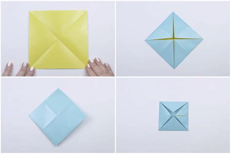 How To Make A Fortune Teller Origami Step By Step - paper catcher cats