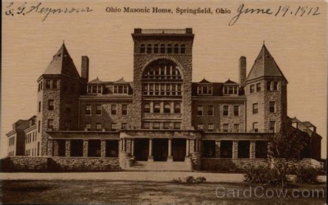 ohio masonic home royalty free image
