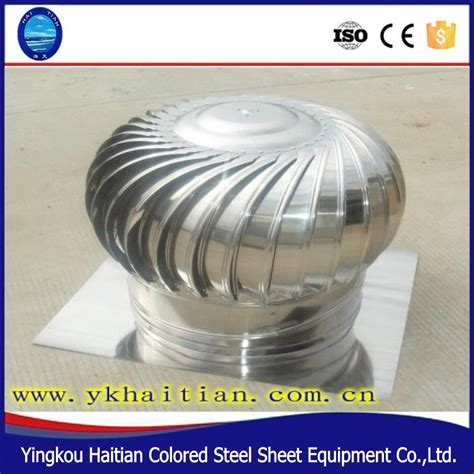 Industrial Wind Turbine Roof Non Electric Ventilation Fan